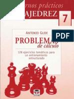 Cuadernos prácticos de ajedrez 07 - Problemas de cálculo