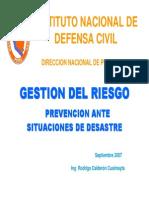 Instituto Nacional de Defensa Civil