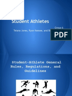 student athletes 1
