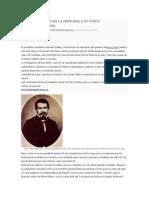 COLOMBIA BORRÓ DE LA HISTORIA A SU ÚNICO PRESIDENTE