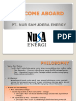 NusA Energy Profile