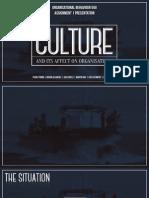 OB 550 Assignment 1 - Culture