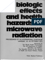 Biologic Effects and Health Hazards of Microwave Radiation