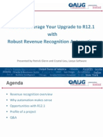Oracle EBS R121 How to Leverage Your Upgrade to R12.1 With Robust Revenue Recognition Automation