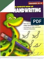 • Both Manuscript and Cursive S9'Les