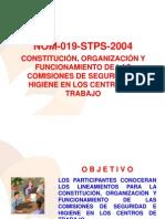 NOM 019 STPS 2004