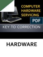 Key to Correction