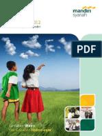 Annual Report 2012 BSM (Bank Syariah Mandiri)