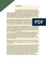 The 'Fracture' in American Politics - Lars Et Al. DeCecco, Bernanke-Gertler