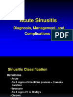Sinusitis English