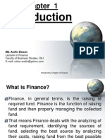 Finance Introduction