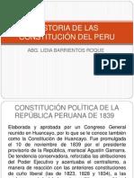 "HISTORIA DE LAS CONSTITUCIÃ""N DEL PERU SEGUNDA PARTE"
