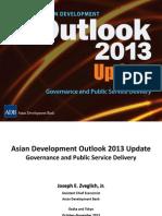 アジア開発銀行駐日代表事務所セミナー「アジア経済見通し改訂版」(2013年11月1日)