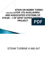Turbo Generator & Its Auxiliaries