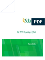 SolarCity 4Q13 Update Presentation FINAL