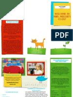 classroom management brochure pdf