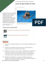Como calcular a pressão da água dentro de uma piscina _ eHow Brasil