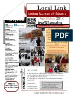 April May 2014 NewsLetter