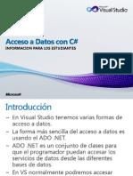 Acceso a Datos Con C#
