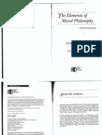 Rachels Elements of Moral Philosophy Chs 1 2