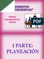 EL PROCESO ADMINISTRATIVO EN LA ORGANIZACIÓN DE UN (1)