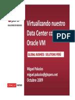 OracleVM Vision2009 20Octubre2009 MPalacios