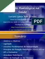 Mini-Curso Protecao Radiologica Saude