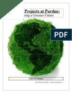 Team Green Purdue, Final White Paper