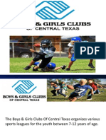 Youth Football In Texas