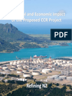 The Social and Economic Impact of Ccr Project