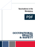 Vaccinations Workplace Guide