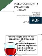 Asset Based Community Development