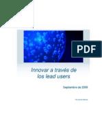 Innovar a través de los lead users