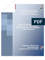 Boletin Filologia y Lenguas Modernas 2013