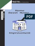 Home Sweet Home... Improvement