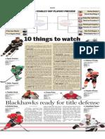 NHL Playoffs Preview