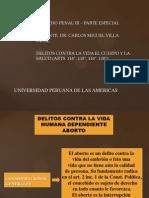 DERECHO PENAL III - 4° SEMANA