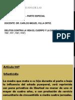 DERECHO PENAL III - 3° SEMANA