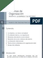 SDO SESION 01 La Empresa y Su Entorno