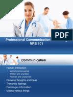 Professional Communication in Nursing