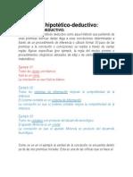 METODO HIPOTETICO DEDUCTIVO