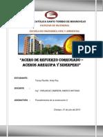 Aceros Arequipa y Siderperu