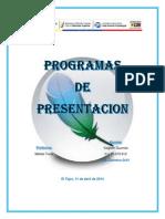 Programas de Presentancion