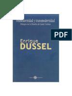 Enrique Dussel - Posmodernidad y Transmodernidad [1999]