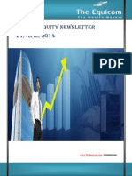 Weekly Equity News Letter 21 Apr 2014