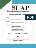 Aportes de Claudio Naranjo