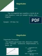 Clases Magnitud