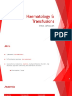 haematology  transfusions