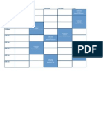 Timetable 2014 UNSW