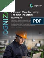 Informed Manufacturing